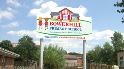 Bowerhill-Primary-Main-Sign1